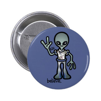 alien probe. button