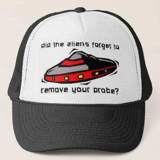 Alien Probe Funny Hat Cap Insult Humor