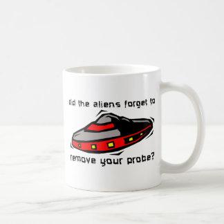 Alien Probe Funny Mug Insult Humor