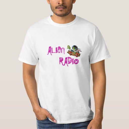 "alien radio ""text logo"" poleras"