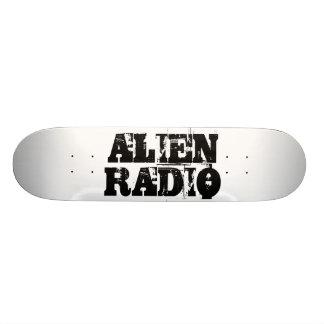 """alien radio """"text """" skateboard"""