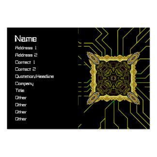 Alien Recorder Big Large Business Card