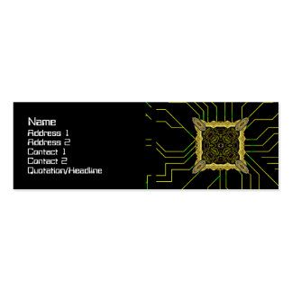 Alien Recorder Big Mini Business Card