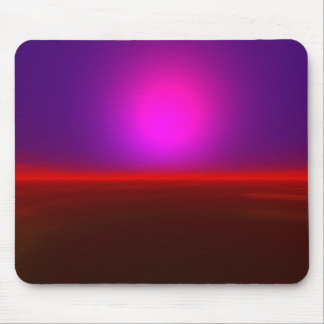 Alien Red Sky Mouse Pad