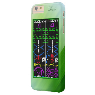 Alien Response Message, with Name Option Barely There iPhone 6 Plus Case
