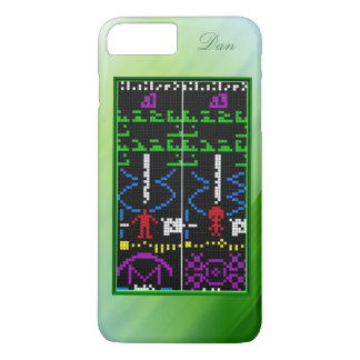 Alien Response Message, with Name Option iPhone 7 Plus Case