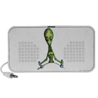 Alien Ride Mp3 Speakers