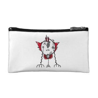 Alien Robot Hand Draw Illustration Cosmetics Bags