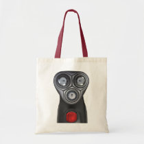 Alien Robot On A Canvas Crafts & Shopping Bag at Zazzle