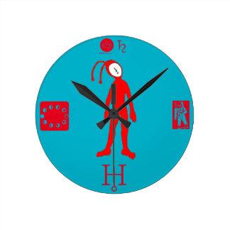 Alien Round Clock