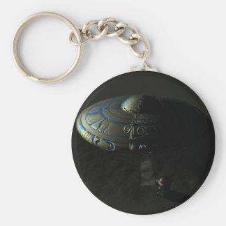 Alien Sand Keychain