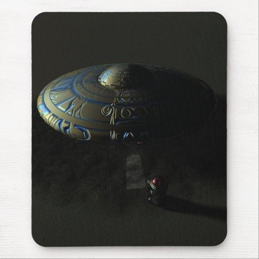 Alien Sand Mousepad