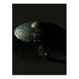 Alien Sand Postcard