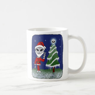 Alien Santa Coffee Mug