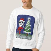 Alien Santa Sweatshirt