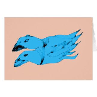 Alien Sea Creatures Card