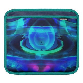 Alien Ship in Space Abstract iPad Sleeve
