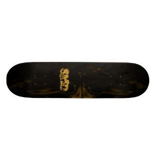 Alien skateboard