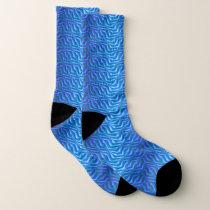 Alien Skin Pattern Socks