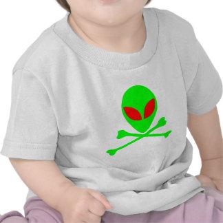 Alien Skull & Bones Shirt