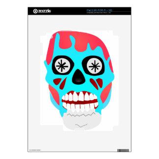 Alien Skull iPad 2 Decals
