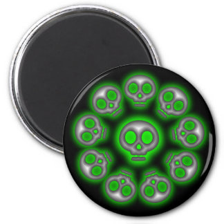 Alien Skulls magnet