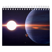 Alien Sky 2019 calendar