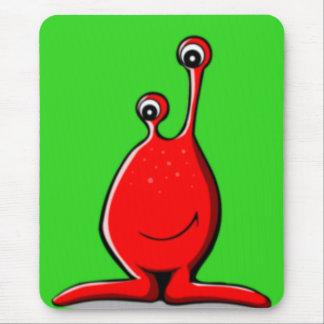 Alien Slime Creature Mouse Pad