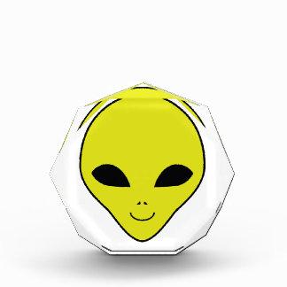 Alien Smiley Face Award