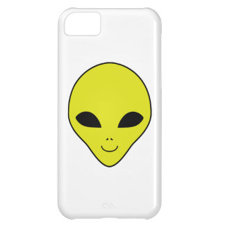 Alien Smiley Face iPhone 5C Covers