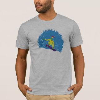 Alien Snowboarder T-Shirt