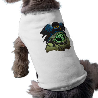 Alien Space Exploration Pet T Shirt