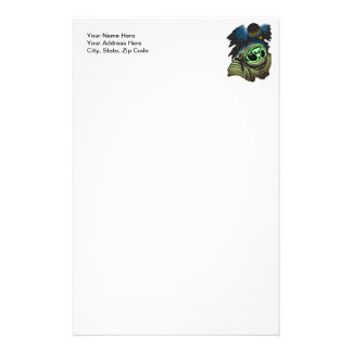 Alien Space Exploration Stationery