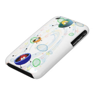 Alien Space Patrol Barely There iPhone 3 Case