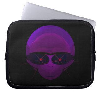 Alien Space Pilot Sci-fi Laptop Sleeve