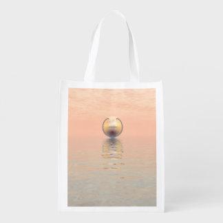 Alien Spacecraft Reusable Grocery Bag