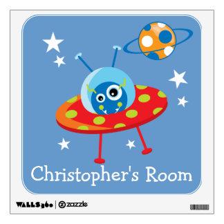 Alien Spaceship Room Graphic