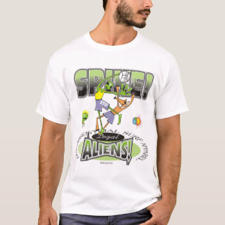 Alien Spike by Gregory Gallo T-Shirt