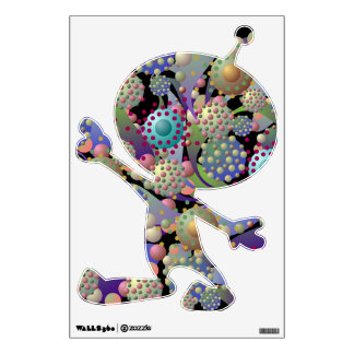 "Alien Spores and Blossoms ""Alien"" Wall Decal"