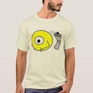 alien spray can by BlitzKrieg T-Shirt