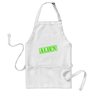 Alien Stamp Adult Apron