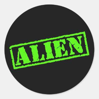 Alien Stamp Stickers