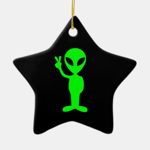 Alien Star Ornament