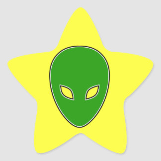 Alien! Star Sticker