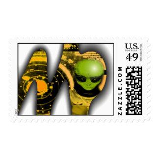 Alien Station Postage
