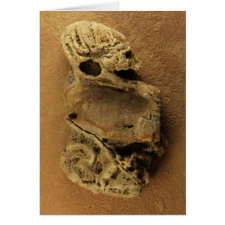 Alien Stone Card