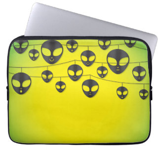 Alien string laptop sleeve