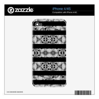 Alien  Stripes Pattern iPhone 4S Skins