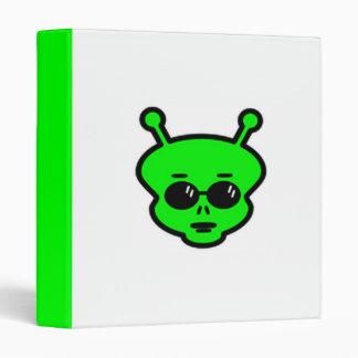 Alien Sunglasses Avery Binder