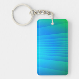Alien Sunset Keychain